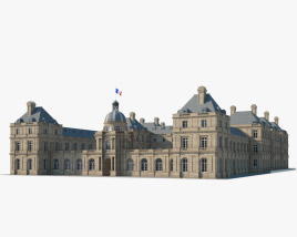3D model of Luxembourg Palace