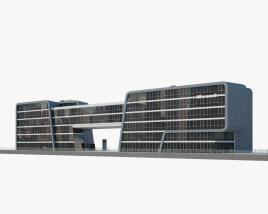 Microsoft Office Building Cologne 3D model