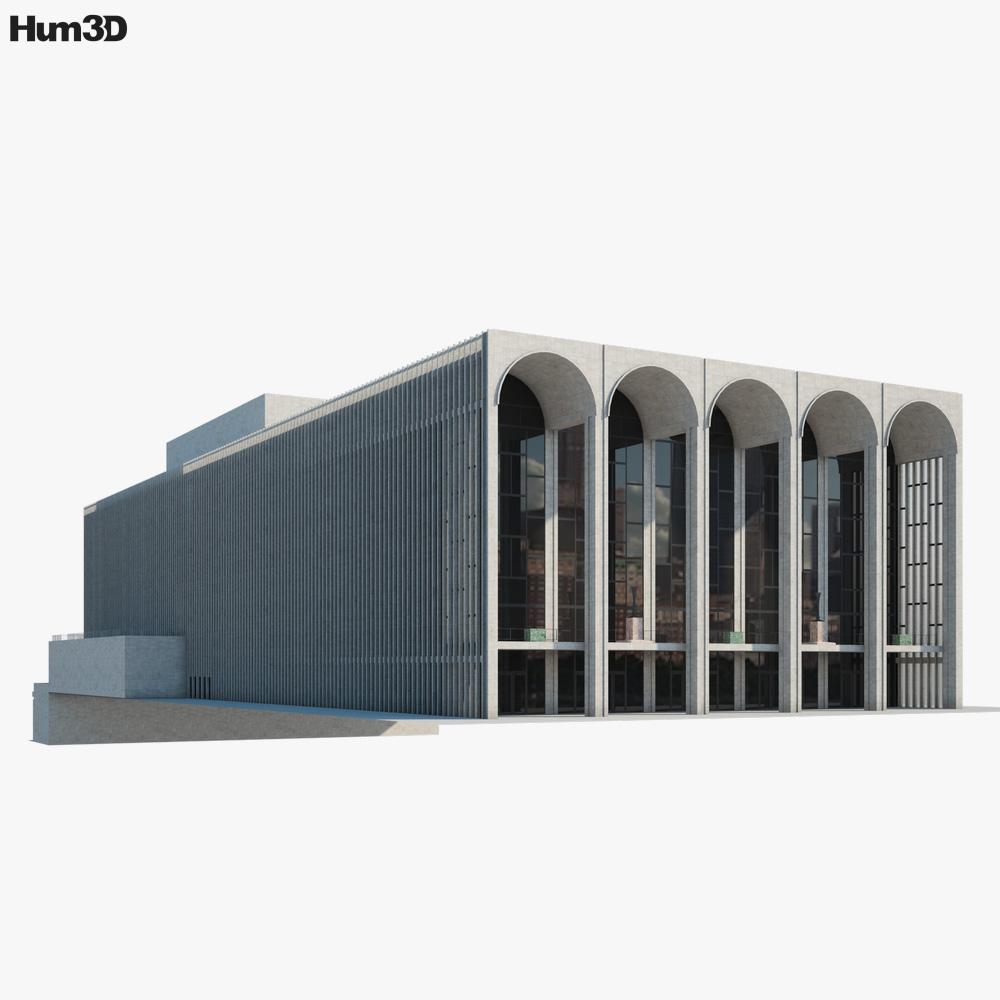 Metropolitan Opera 3D model