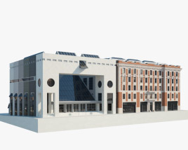 3D model of Montreal Museum of Fine Arts