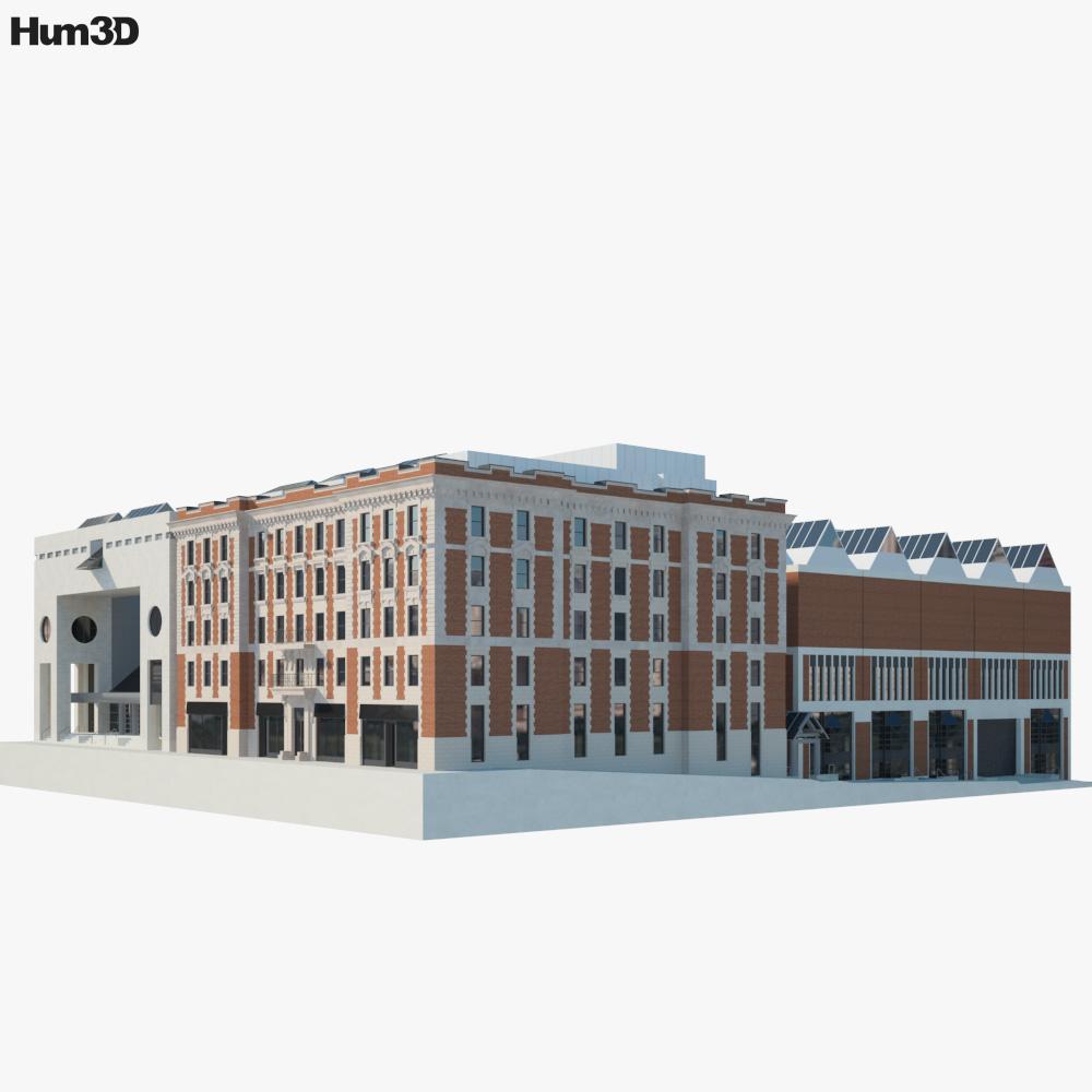 Montreal Museum of Fine Arts 3d model