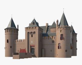 3D model of Muiden Castle