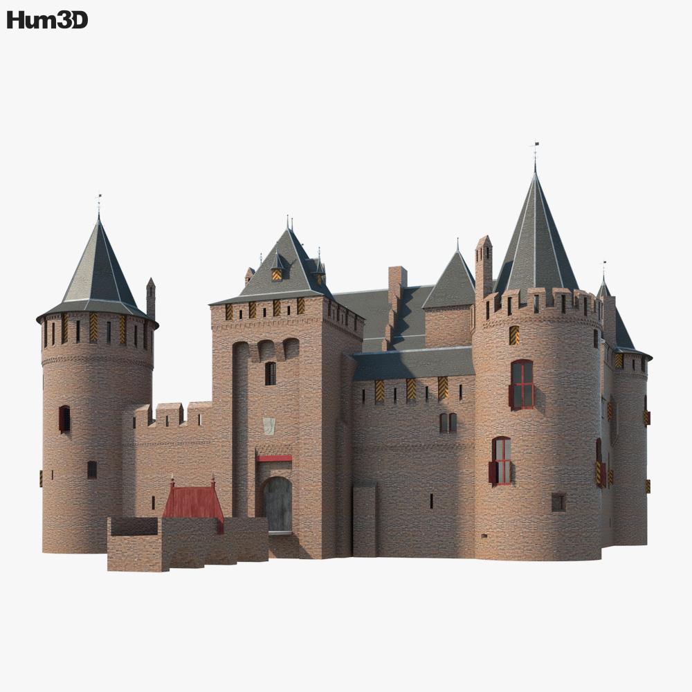 Muiden Castle 3D model
