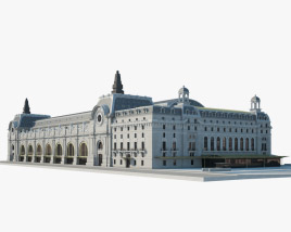 3D model of Musee d'Orsay