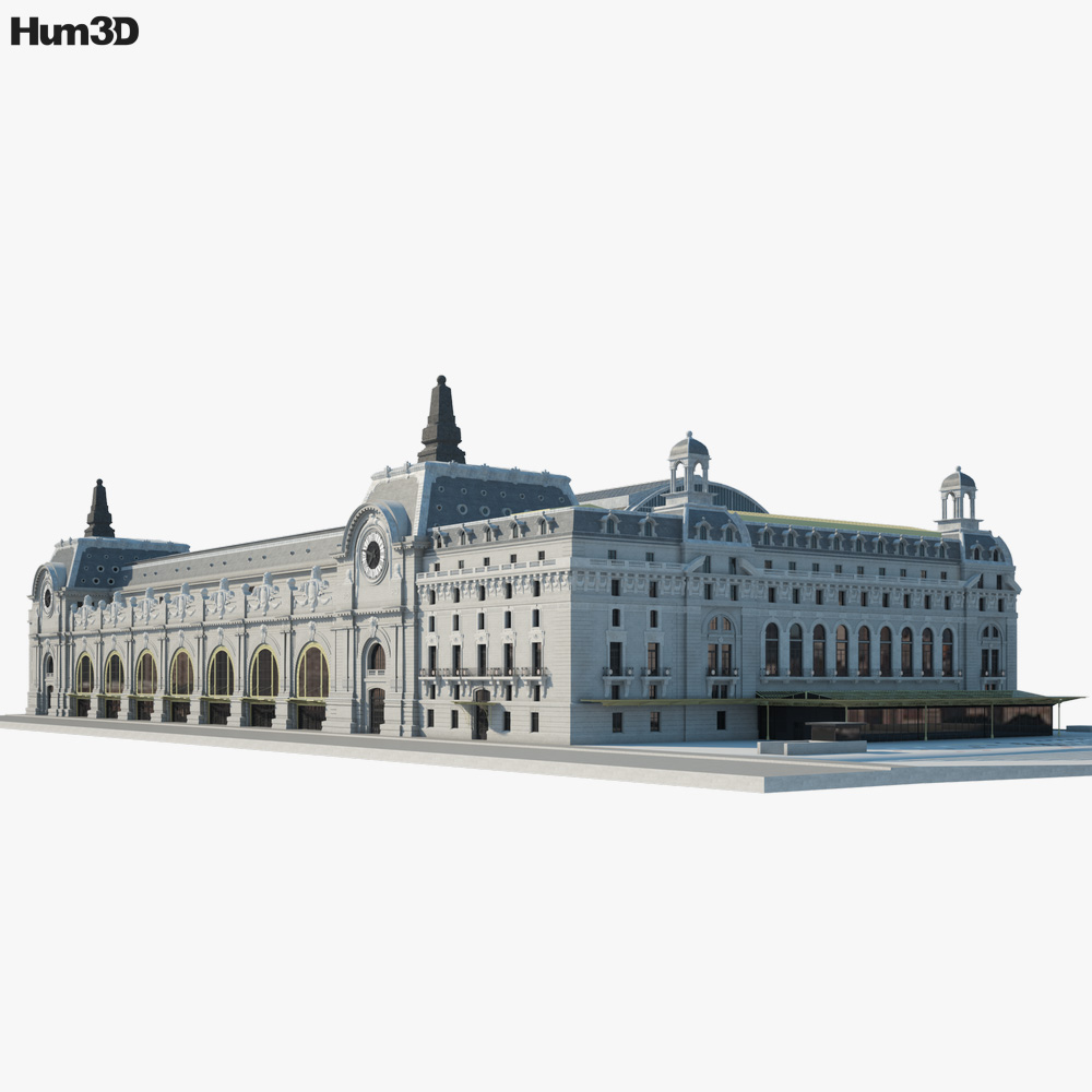 Musee d'Orsay 3D model