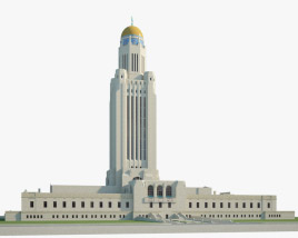 3D model of Nebraska State Capitol