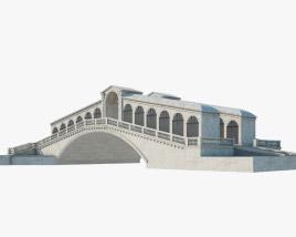 Rialto Bridge 3D model