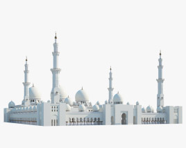 3D model of Sheikh Zayed Mosque