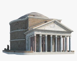 3D model of Pantheon Rome