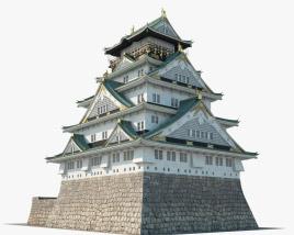 3D model of Osaka Castle