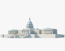 3D model of United States Capitol