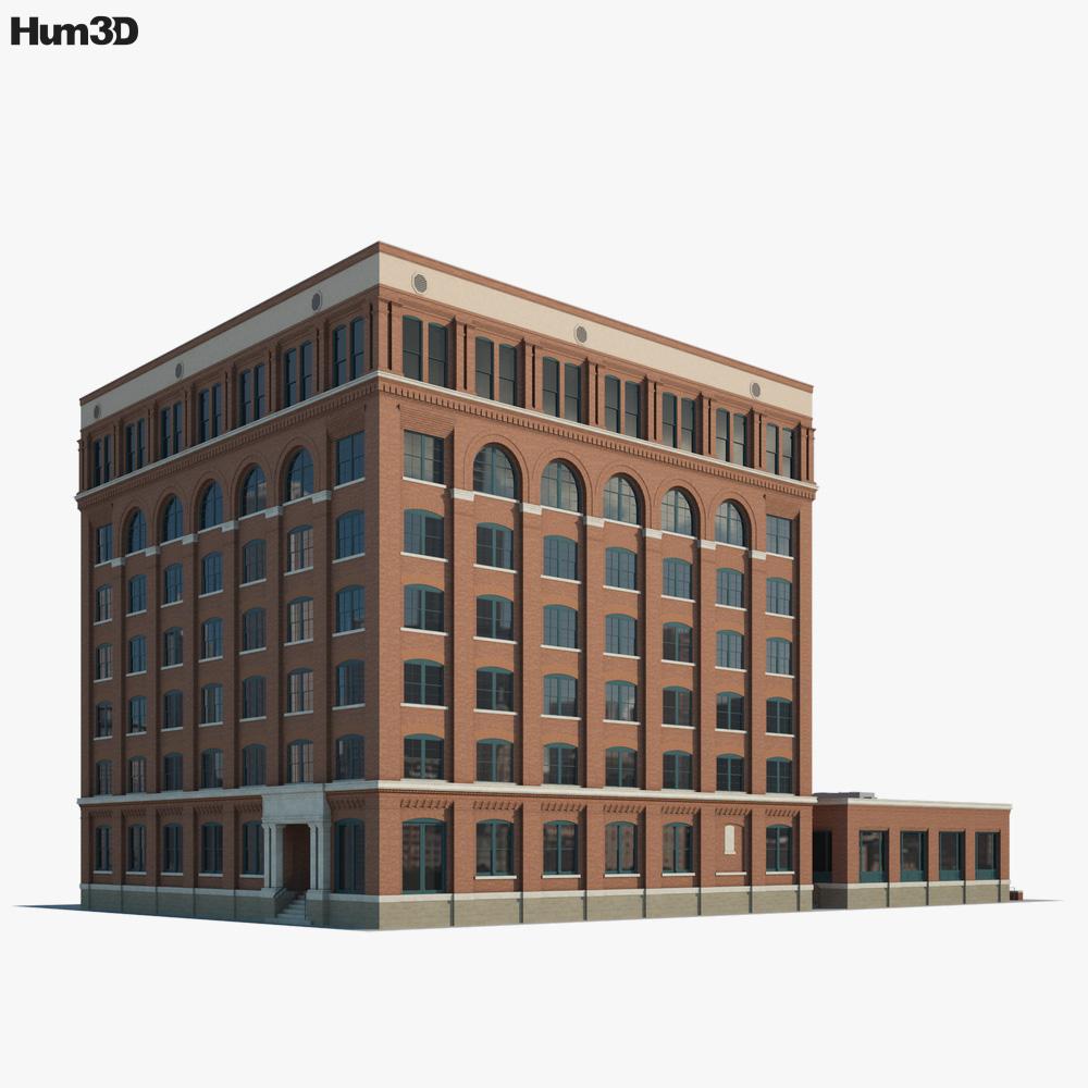 Texas School Book Depository 3D model