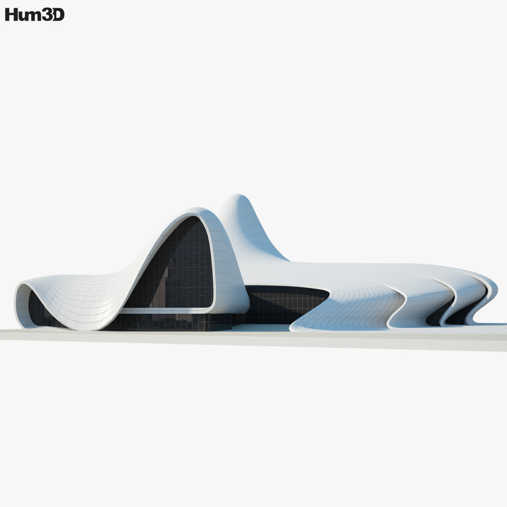 Heydar Aliyev Center 3d model