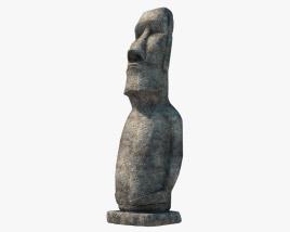 Statua Moai Modello 3D