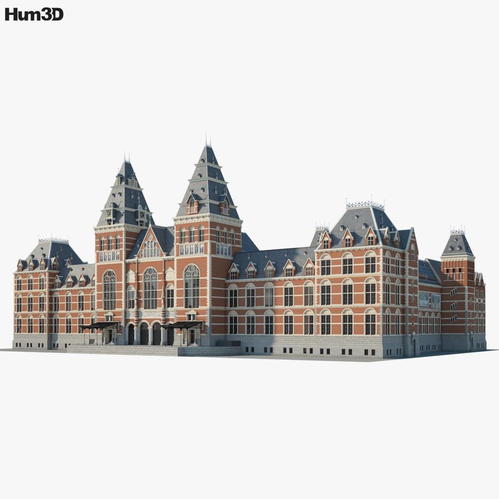 Rijksmuseum 3D model