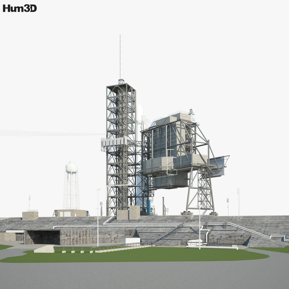 Kennedy Space Center Launch Complex 3d model