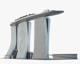 Marina Bay Sands 3D model