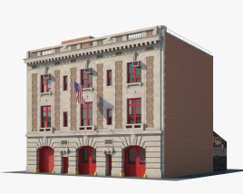 New York City Fire Station Museum 3D model
