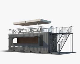 Container Café 3D model