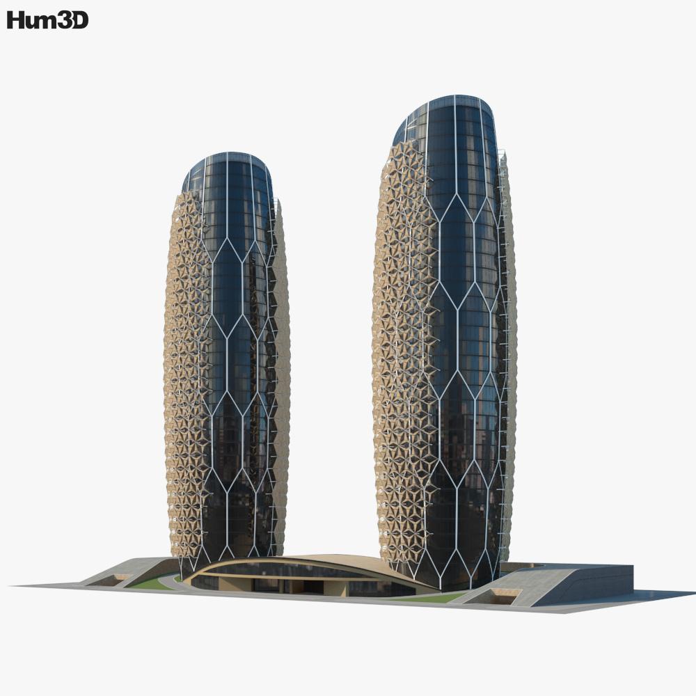 Al Bahar Towers 3D model