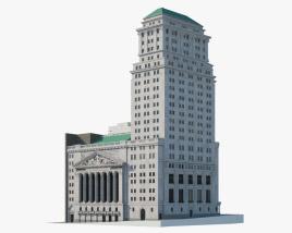 New York Stock Exchange Building 3D model