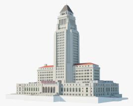 Los Angeles City Hall 3D model