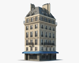 European building V02 3D model