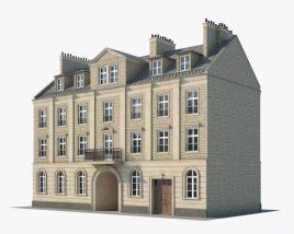 European building V03 3D model