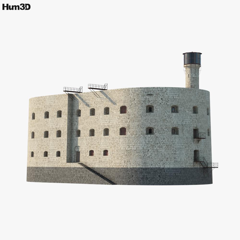 Fort Boyard 3D model