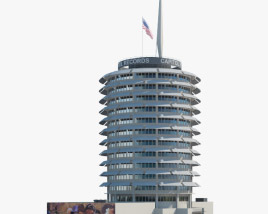 3D model of Capitol Records Building