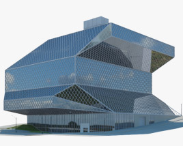 3D model of Seattle Central Library