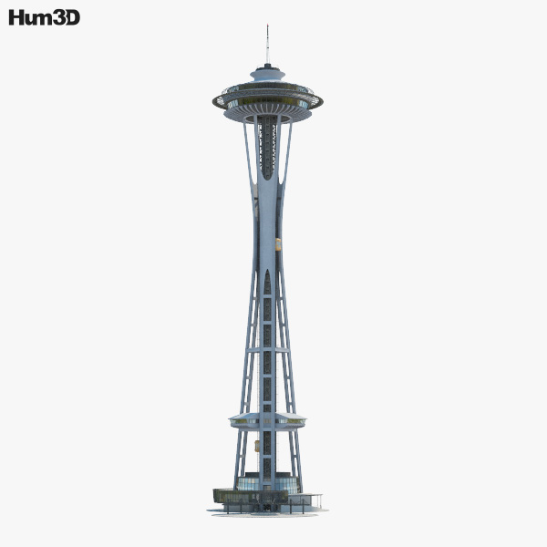 3D model of Space Needle