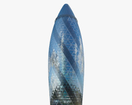 3D model of St Mary Axe