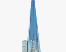 3D model of The Shard