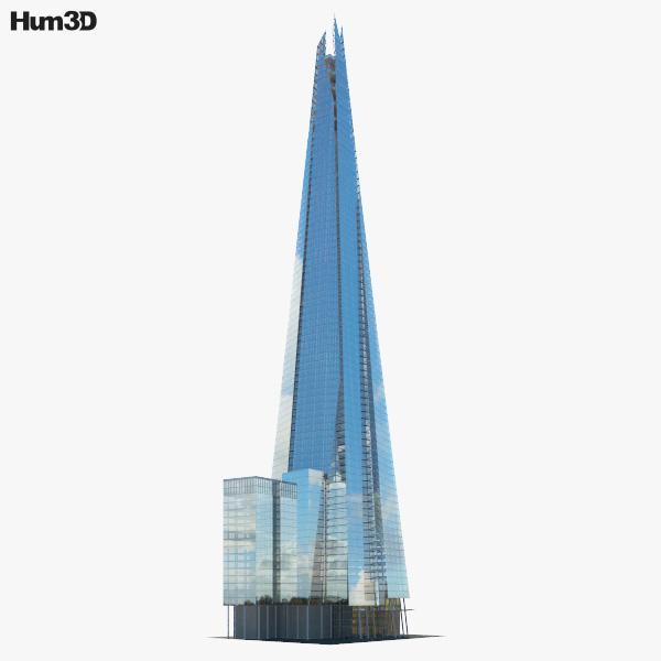 The Shard 3D model