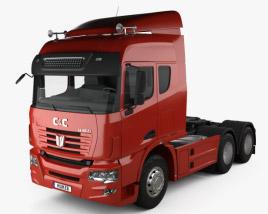 3D model of C&C U460 Tractor Truck 2010