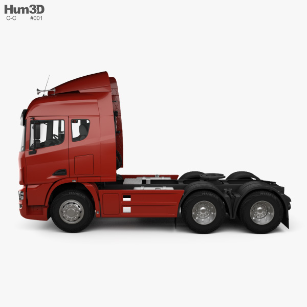 C&C U460 Tractor Truck 2010 3D model