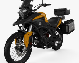3D model of CSC Motorcycles Cyclone RX3 2015