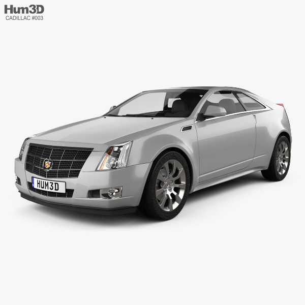 3D model of Cadillac CTS 2011