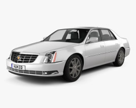 3D model of Cadillac DTS 2011