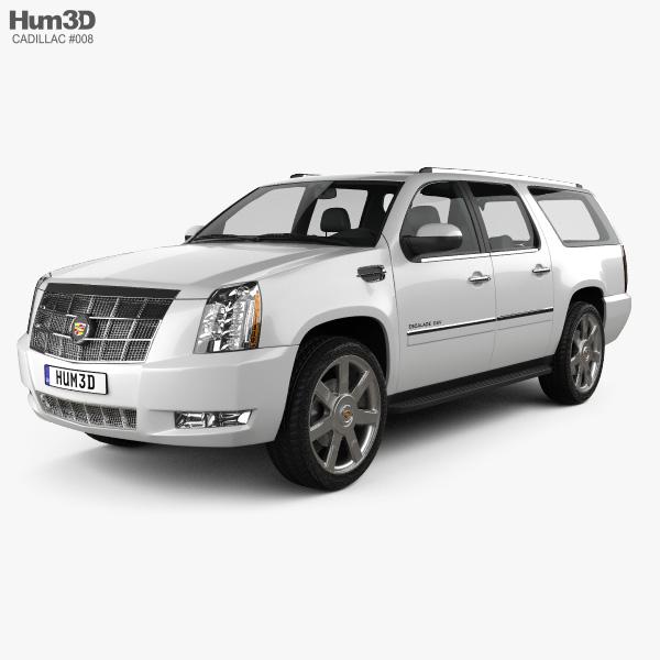 Cadillac Escalade ESV 2011 3D model
