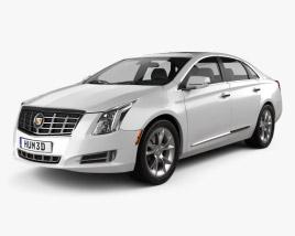3D model of Cadillac XTS 2013