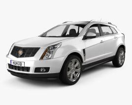 3D model of Cadillac SRX 2013