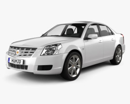 3D model of Cadillac BLS sedan 2009