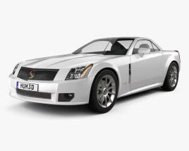 3D model of Cadillac XLR 2009