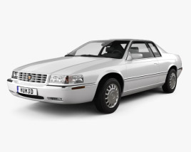 3D model of Cadillac Eldorado 2002