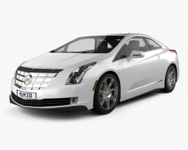 3D model of Cadillac ELR 2014