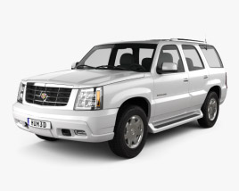 3D model of Cadillac Escalade 2002