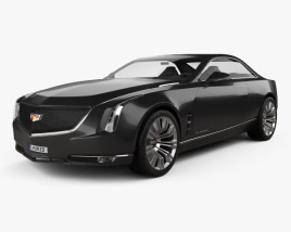 3D model of Cadillac Elmiraj 2013