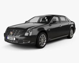 3D model of Cadillac SLS 2009